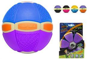 Phlat Ball junior svítící ve tmě Modro fialová
