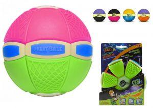 Phlat Ball junior svítící ve tmě Růžovo zelená