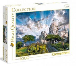Puzzle Clementoni 1000 dílků - Montmartre Paříž  39383