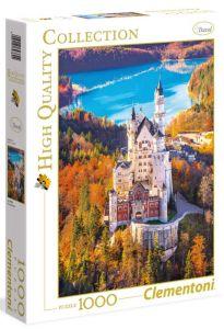 Puzzle Clementoni 1000 dílků - Neuschwanstein  39382