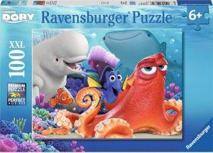 puzzle Ravensburger 100 dílků XXL - hledá se Dory  108756