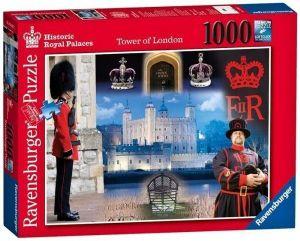Puzzle Ravensburger 1000 dílků - Londýnský Tower  195817
