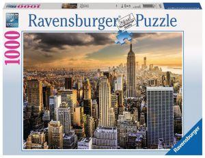 Puzzle Ravensburger 1000 dílků - Mrakodrapy v New Yorku  197125