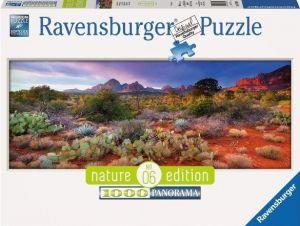 Puzzle Ravensburger 1000 dílků panorama - Magická pustina  150694