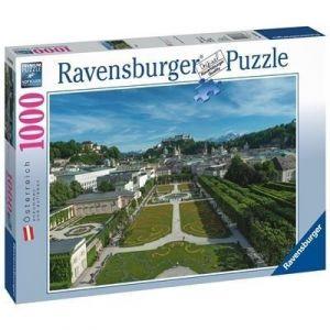 Puzzle Ravensburger 1000 dílků - Salzburk ( Salcburk )