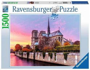 puzzle Ravensburger 1500 dílků  Notre Dame  163458