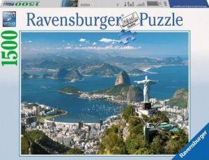 puzzle Ravensburger  1500 dílků - Pohled na Rio    163175