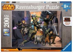 puzzle Ravensburger  200 dílků XXL  - Star Wars Rebels   128099