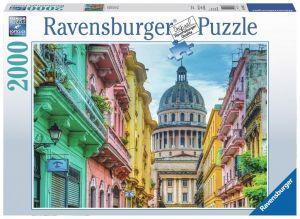 puzzle Ravensburger  2000 dílků -  Barevmá Kuba  166183