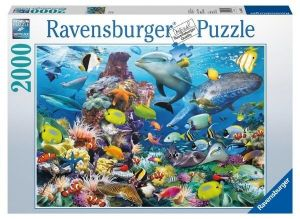 puzzle Ravensburger  2000 dílků  Pod vodou  166824