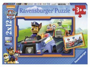 Puzzle Ravensburger  2x12 dílků  Psí Tlapková Patrola 075911