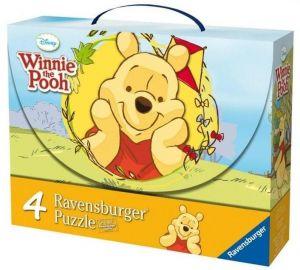 Puzzle Ravensburger  2x25 a 2x36 dílků v  kufříku  Medvídek Pů  072019