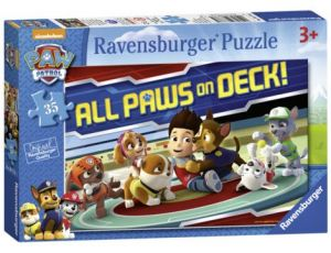 Puzzle Ravensburger 35 dílků  Psí tlapková patrola    087761