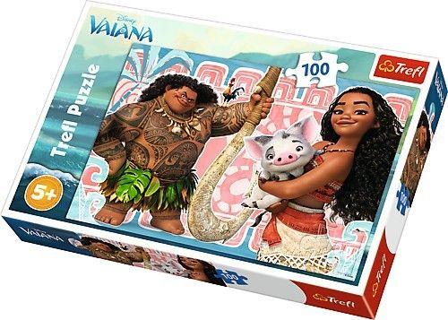 Puzzle Trefl 100 dílků - Vaiana 16298