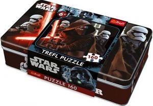 Puzzle Trefl 160 dílků v plechové krabičce - Star Wars    53014