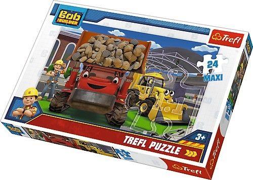 Puzzle Trefl 24 MAXI dílků - Bořek stavitel 14246