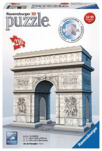 Ravensburger 3D puzzle Vítězný oblouk 216 dílků 125142