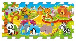 Trefl - Pěnové puzzle - koberec - v ZOO 60695