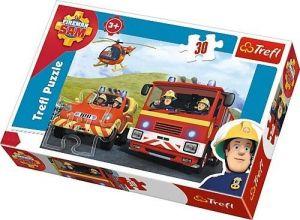 Trefl puzzle  30 dílků  - Požárník Sam  - 18213