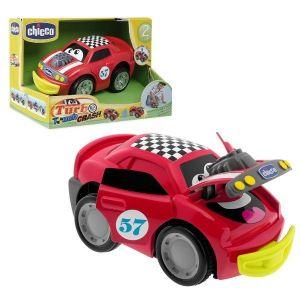 Chicco Autíčko Turbo touch / Crash Derby červené