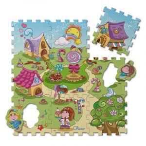 Chicco Puzzle koberec Candy 9 dílů