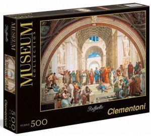 Clementoni  500 dílků - Raffaello - Aténská škola  35043