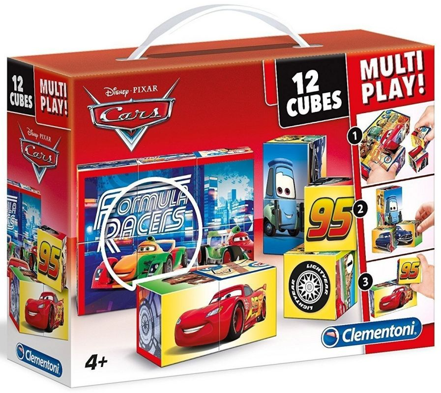 Clementoni - multi-play kostky - CARS - Auta 41505