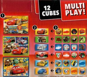 Clementoni - multi-play kostky - CARS - Auta 41505