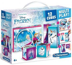 Clementoni - multi-play kostky - Frozen - Ledové království   41503