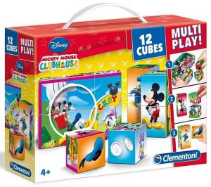 Clementoni - multi-play kostky - Mickey Mouse - Club House  41502