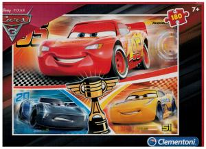 Clementoni Puzzle 180 dílků - CARS 3 - 07341