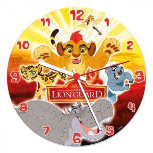 CLEMENTONI Puzzle hodiny Lví hlídka  96 dílků  23027