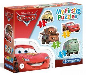 Clementoni Puzzle pro nejmenší - My first  4v1  - Cars  20804