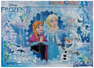 Deskové puzzle Clementoni - 15 dílků - Frozen   -  22226b