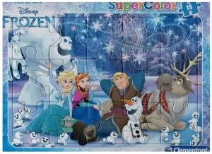 Deskové puzzle Clementoni - 15 dílků - Frozen   -  22226c
