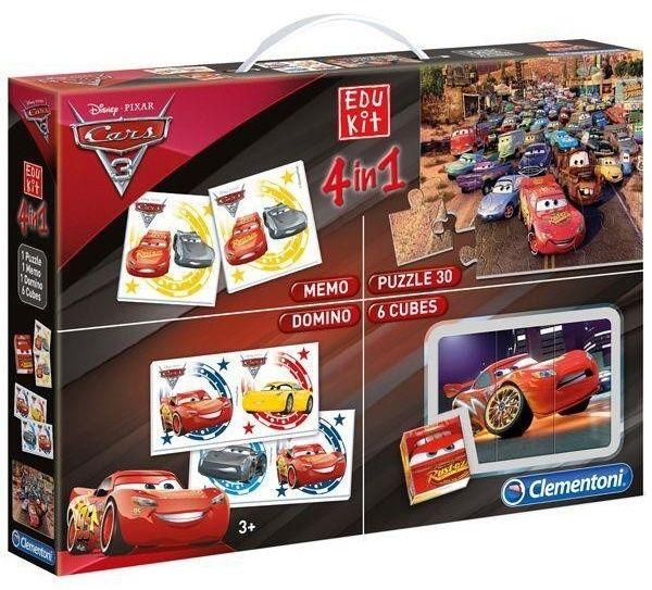 EDUKIT - hry Clementoni - 4v1 CARS 3 13710