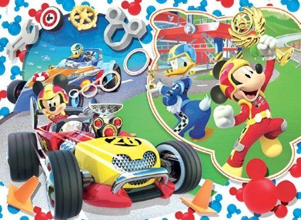 Podlahové puzzle Clementoni 30 dílků MAXI - Mickey Mouse 07435