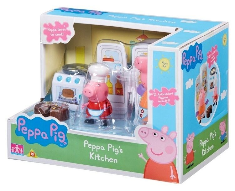 Prasátko Peppa - sada kuchyně + figurky IMC toys