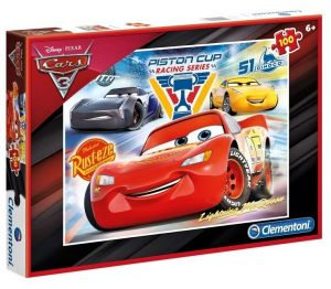 Puzzle Clementoni 100 dílků CARS  3 - 07257