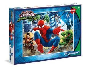Puzzle Clementoni 100 dílků Spiderman  - 07259