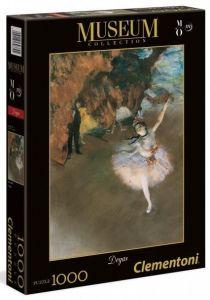 Puzzle Clementoni 1000 dílků - Degas - Baletka   39379