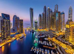 Puzzle Clementoni 1000 dílků - Dubai 39381