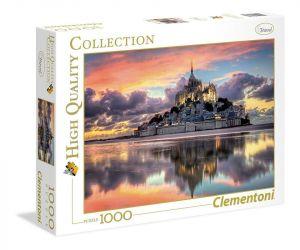 Puzzle Clementoni 1000 dílků - Mont Saint-Michel    39367