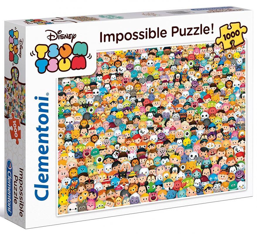 Puzzle Clementoni 1000 dílků - Nekoneční Smilly 39388