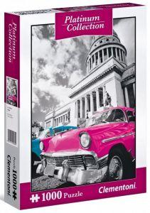 Puzzle Clementoni 1000 dílků - Platinum Coll  - Kuba  39400
