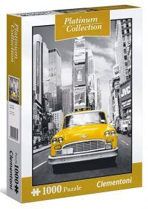 Puzzle Clementoni 1000 dílků - Platinum Coll  - New York Taxi   39398