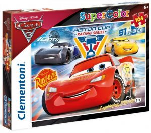 Puzzle Clementoni 104 dílků  -  CARS 3    27072