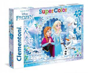 Puzzle Clementoni  - 104 dílků  -  Frozen  27985