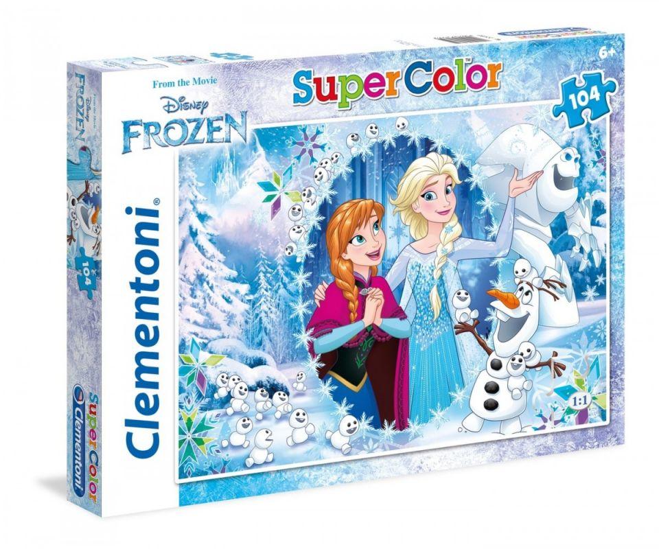 Puzzle Clementoni - 104 dílků - Frozen 279585
