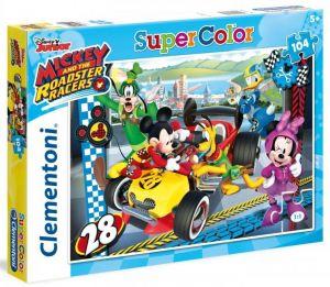 Puzzle Clementoni 104 dílků  -  Minnie Mouse -  Závodníci   27984
